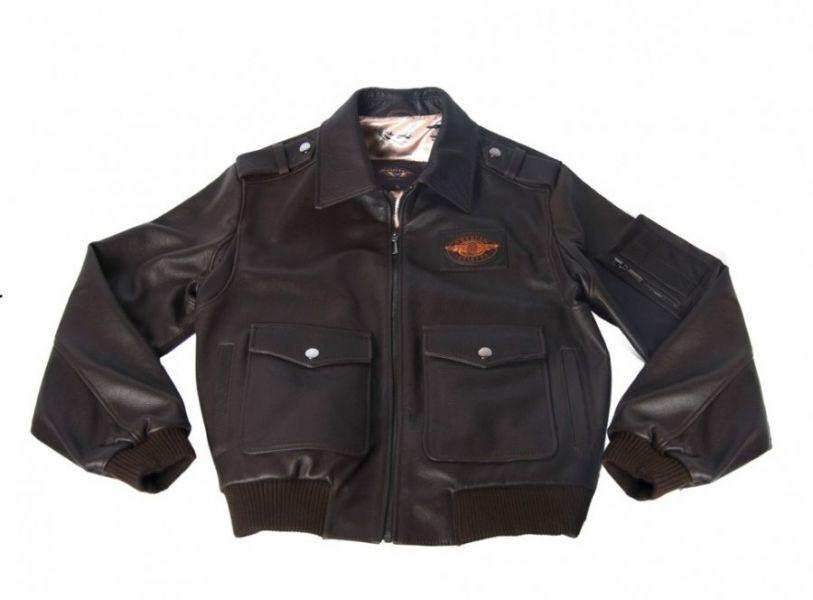 Кожаная Летная Куртка
