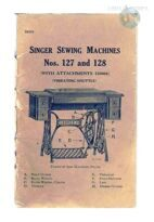 SINGER SEWING MACHINES Nos 127 and 128